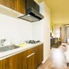 1R Serviced Apartment to Rent in Osaka-shi Naniwa-ku Kitchen