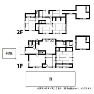 京都市左京區上高野掃部林町-8SLDK{building type} 房間格局