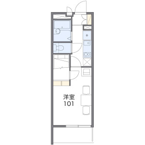 1K Mansion in Bamba - Otsu-shi Floorplan