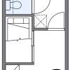 在枚方市内租赁1K 公寓 的 楼层布局