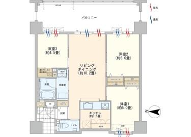 3LDK Apartment to Buy in Kunigami-gun Kin-cho Floorplan