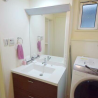 2LDK Terrace house to Rent in Komae-shi Washroom