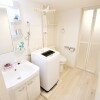 1R Apartment to Rent in Toshima-ku Washroom