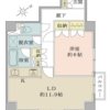 1LDK Apartment to Buy in Shibuya-ku Floorplan