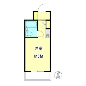 1R Mansion in Nakano - Nakano-ku Floorplan