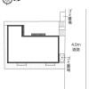 1K アパート 葛飾区 配置図
