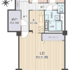 2SLDK Apartment to Buy in Matsudo-shi Floorplan