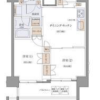 2DK Apartment to Rent in Shinagawa-ku Floorplan
