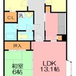 3LDK Apartment