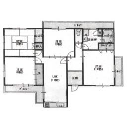 京都市東山區塗師屋町-4LDK{building type} 房間格局