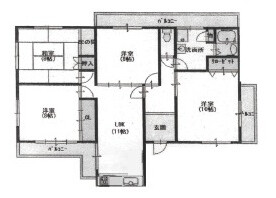 4LDK Apartment to Buy in Kyoto-shi Higashiyama-ku Floorplan