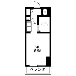 1R Mansion in Sagamihara - Sagamihara-shi Chuo-ku Floorplan