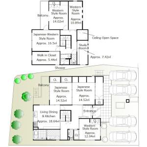 6SLDK House in Oe kutsukakecho - Kyoto-shi Nishikyo-ku Floorplan