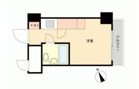 1R {building type} in Kaigan(1.2-chome) - Minato-ku