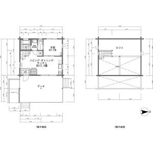 1LDK {building type} in Kabayama - Abuta-gun Kutchan-cho Floorplan