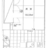 1DK Apartment to Rent in Sumida-ku Floorplan