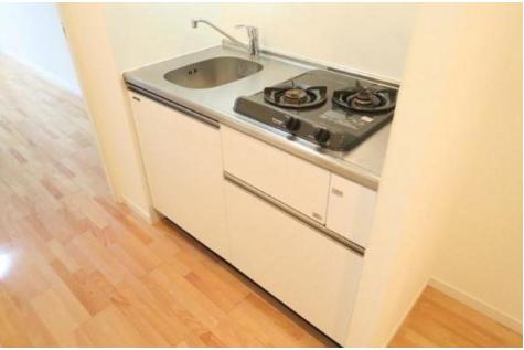 1K Apartment to Rent in Chiba-shi Chuo-ku Kitchen