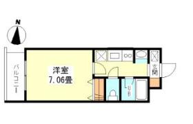 新宿区 - 西早稲田(その他) 简易式公寓 1K