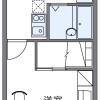 在南河内郡河南町內租賃1K 公寓 的房產 房間格局