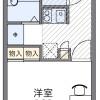 1K Apartment to Rent in Osaka-shi Nishi-ku Floorplan