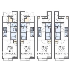 1K Apartment in Naritanishi - Suginami-ku Floorplan