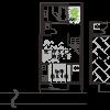 1DK House to Rent in Kyoto-shi Shimogyo-ku Floorplan