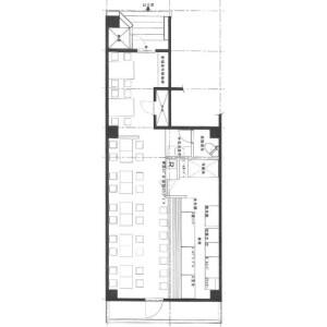 Shop {building type} in Kitaotsuka - Toshima-ku Floorplan