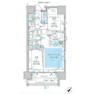 1SLDK Mansion in Hommachi - Shibuya-ku Floorplan