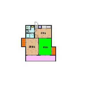 2DK Mansion in Miyakojimanakadori - Osaka-shi Miyakojima-ku Floorplan