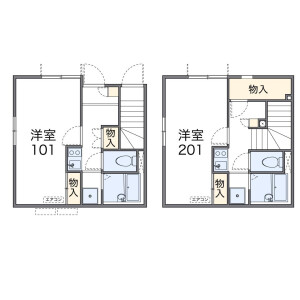 1K Apartment in Komazawa - Setagaya-ku Floorplan