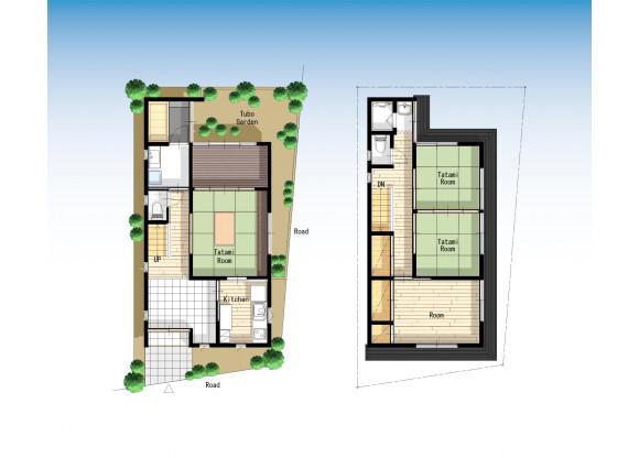 3SLDK House to Rent in Taito-ku Floorplan