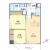 2DK Apartment to Buy in Edogawa-ku Floorplan