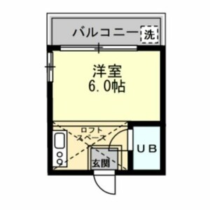 1R Apartment in Higashiikuta - Kawasaki-shi Tama-ku Floorplan
