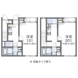 1K House in Nishimachi - Saitama-shi Iwatsuki-ku Floorplan