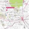 1K Apartment to Rent in Shibuya-ku Map