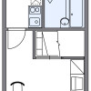 1K Apartment to Rent in Himeji-shi Floorplan