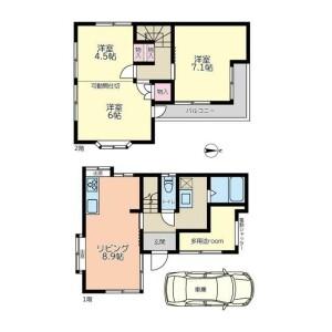 3SDK {building type} in Nishioizumi - Nerima-ku Floorplan