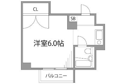 1R マンション 川崎市宮前区 間取り
