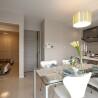 在丰岛区内租赁3LDK 公寓大厦 的 起居室