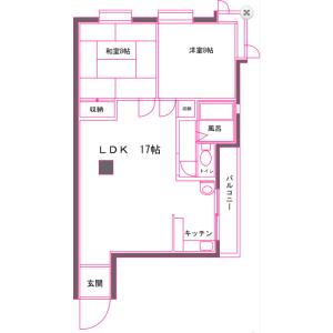 2LDK Mansion in Tsurugaoka - Tsurugashima-shi Floorplan