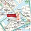 3LDK Apartment to Rent in Koto-ku Map