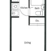 1R Apartment to Rent in Yokohama-shi Kanagawa-ku Floorplan
