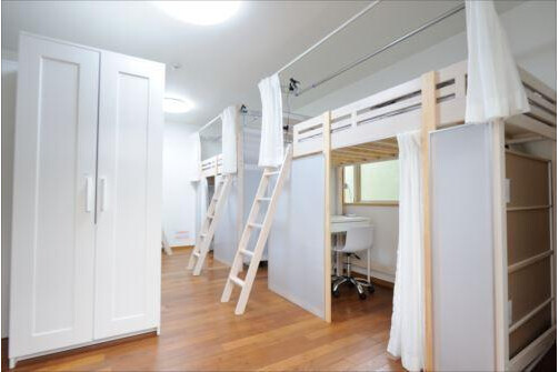 Shared Guesthouse to Rent in Meguro-ku Bedroom