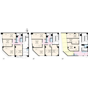 1R Mansion in Higashiueno - Taito-ku Floorplan