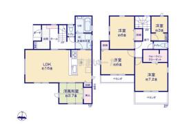 4LDK {building type} in Izumicho - Nishitokyo-shi
