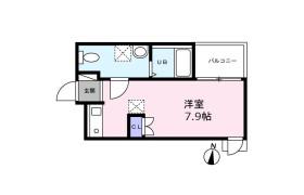 藤沢市長後-1R公寓