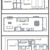 3LDK House to Rent in Shibuya-ku Floorplan