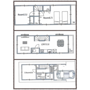 3LDK House in Hommachi - Shibuya-ku Floorplan