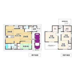 4LDK {building type} in Minamitsumori - Osaka-shi Nishinari-ku Floorplan