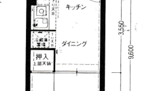 1DK {building type} in Hanazonokita - Osaka-shi Nishinari-ku
